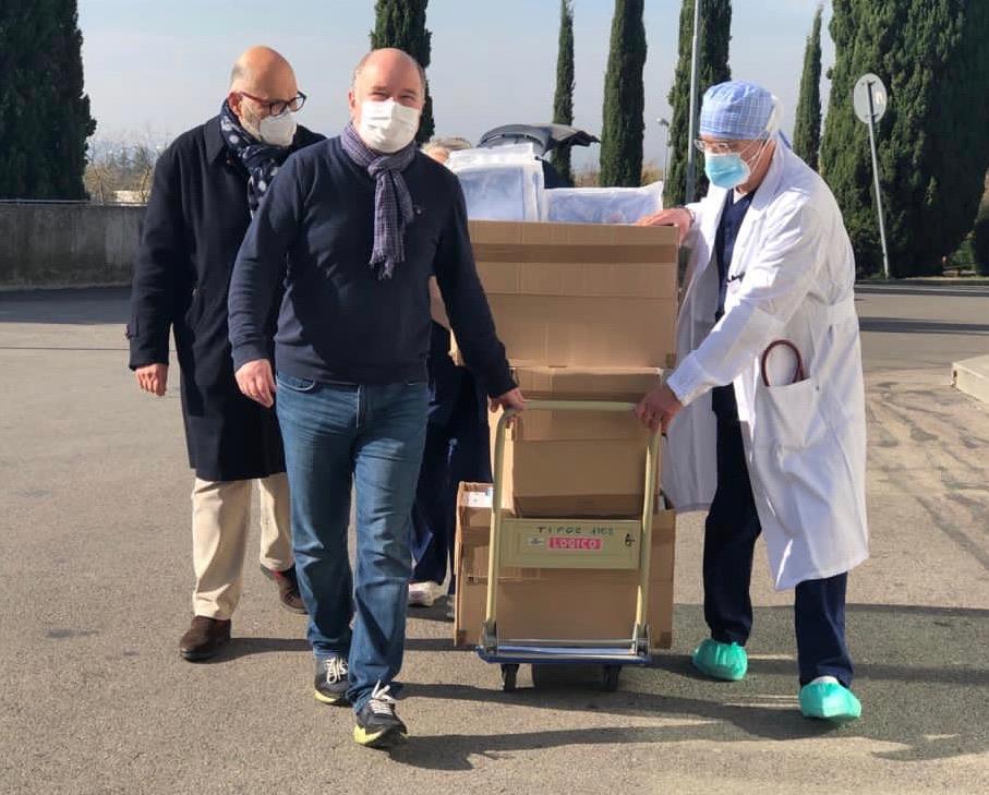 Krankenhäuser in Perugia